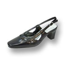 PEERAGE Kate Women Wide Width Dress or Work Leather Slingback Shoes  - $53.95