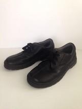 Dr Martens 'Nevin' Black Leather 3 Eye Oxfords Men's Size 13 - $23.36