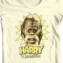 Harry and Hendersons T-shirt retro 80s TV show Sasquatch Big Foot tee NBC296 image 1