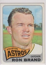 Ron Brand Signed Autographed 1965 Topps Baseball Card - Houston Astros - $12.99
