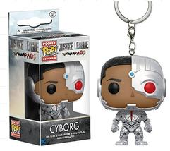 "Keychain Characters ""Cyborg"" Action Figure Toys with box - $8.85"