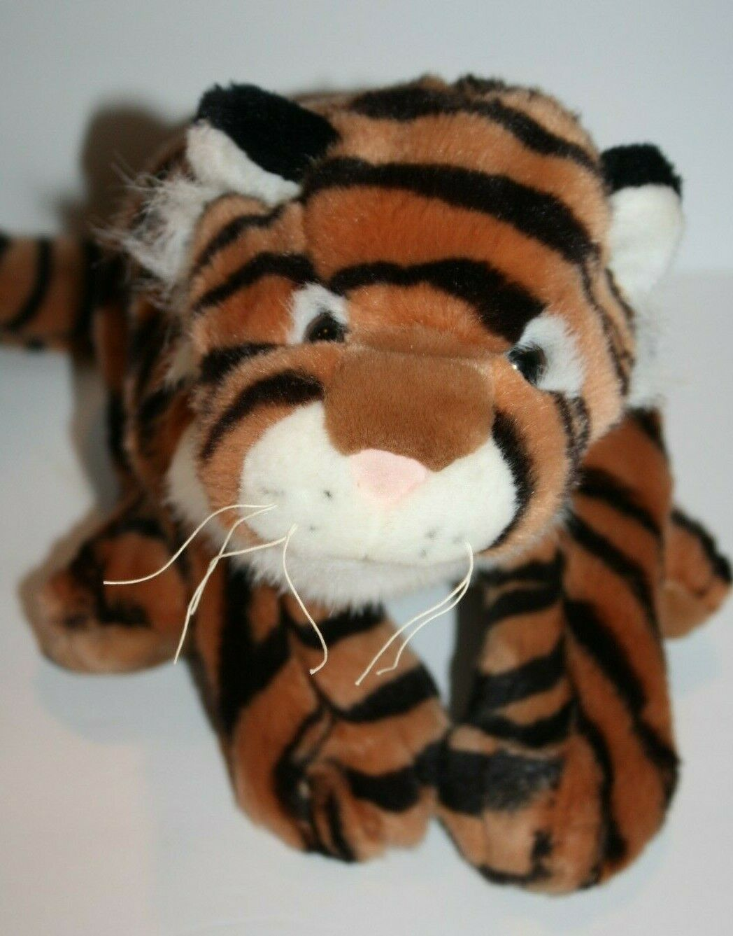 "Primary image for Aurora TIGER Puppet 14"" Plush Full Body So Soft Toy Cuddly Stuffed Animal Cat"