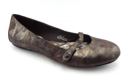 BORN Size 9.5 Metallic Mary Jane Ballet Flats Shoes 9 1/2 - $39.20