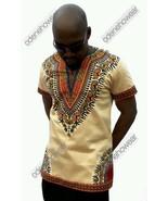 Odeneho Wear Men's Polished Cotton Top/ Dashiki Design. African Clothing - $64.35+