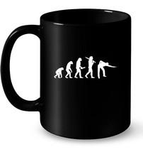 Mens Billiards 9 Ball Pool Snooker Evolution Funny Gift Coffee Mug - $13.99+