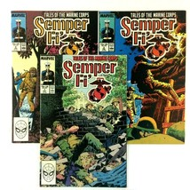 Semper Fi Tales of the Marine Corps Comic Book Lot 1-3 Marvel War Comics VF - $9.85