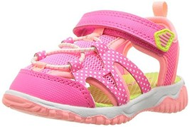 Carter's Baby Zyntec Boy's and Girl's Athletic Sport Sandal, Pink, 10 M ... - $19.66