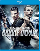 Double Impact (Blu-Ray/Ws-1.85/Eng Sdh-Sp-Fr Sub)