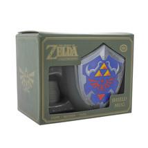 Nintendo The Legend of Zelda Princess Hylian Shield Logo 18 oz Ceramic M... - $13.54