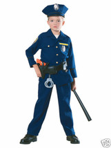 Police Officer Child Halloween Costume Size Large 12-14 - $36.00