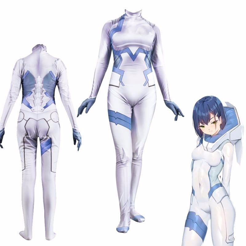 Primary image for DARLING in the FRANXX 015 ICHIGO Cosplay Anime Set Bodysuit Jumpsuits Costume