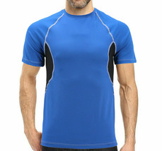 Men's Cool Quick-Dry Gym Workout Sport Running Breathable T-shirt - S