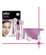 Braun Face 832-s Set Epilator Facial And Brush Cleaning Facial 3 Accesso... - $286.45