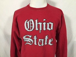 Ohio State University Buckeyes Adult Large Red Sweatshirt Champion Vinta... - $39.59