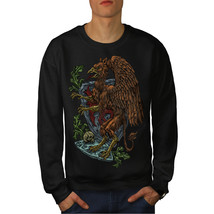 Griffin Mystic Fantasy Jumper Bird Fly Men Sweatshirt - $18.99+