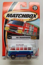 2000 Matchbox #12 VW Transporter Highway Heroes NIP - $9.78