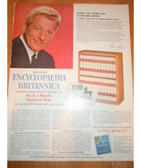 Vintage Encyclopedia Britannica Danny Kay Print Magazine Advertisement 1965 - $5.99