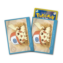 Pokemon Center Card Sleeves Japanese Pikachu Deck Shield Ash's Hat Unova... - $15.99