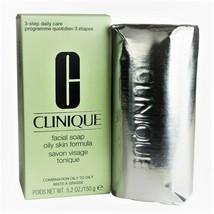 Clinique Facial Soap Oily Skin Formula 5.2 oz/150 g - Full Size - NIB - $21.50