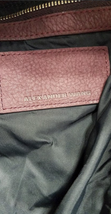 ALEXANDER WANG Marti Lambskin Leather Backpack Rare Burgundy Purse Bag image 5