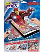 Crayola Color Alive Virtual Coloring Book, Avengers - Crayola Color Alive  - $7.48