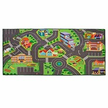 Washable Community Play Rug for matchbox cars 36 X 72 Inches - $72.30