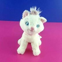 Disney Store Aristocats Plush Marie Sitting White Kitten Cat Stuffed Ani... - $11.87