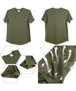 Ns Hemp Round Neck T-Shirts For Women - $26.89