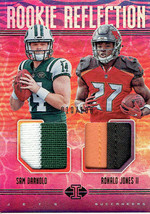 SAM DARNOLD/RONALD JONES II RC 2018 ILLUSIONS ROOKIE REFLECTIONS 4CLR PA... - $29.69