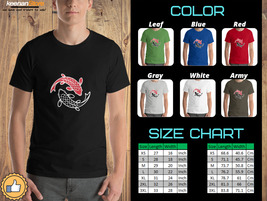 Japan Fish ying yang - Diecast Design T-Shirt - $22.00+