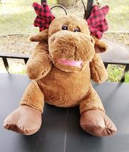 """Converted 24"""" Stuffed Animal """"Reindeer"""" Ventriloquist Puppet *Custom * E12 - $15.00"""