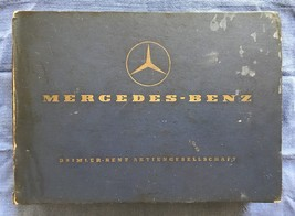Mercedes Benz Type 180 Spare Parts List Edition C as Per December 1957 O... - $104.72