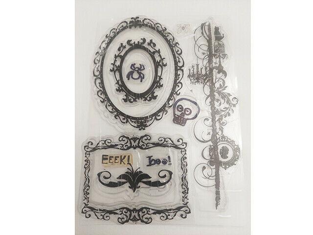 Halloween Stamp Set, Frames, Border Stamp, and More