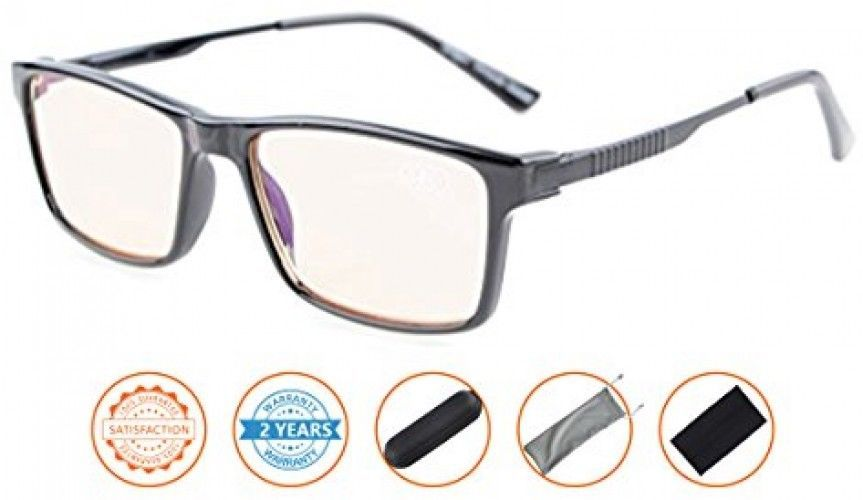 Reduces Eyestrain,Anti Blue Rays,TR90 Frame,Spring Hinges,UV Protection Reading - $43.43