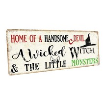 Devil, Witch and Monsters Metal Sign; Wall Decor for Seasonal Ocassions - $24.74+