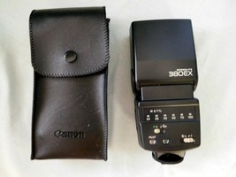 CAMERA Canon Flash SPEEDLITE 380EX Shoe Mount for EOS + Case UNTESTED-PA... - $38.99