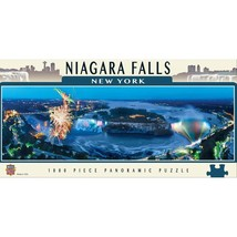 Panoramic Niagara Falls 1000pc Puzzle by Masterpieces Puzzles #71854 - $29.99