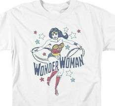 Wonder Woman t-shirt retro DC Comics Superhero 100% cotton graphic tee DCO762 image 2