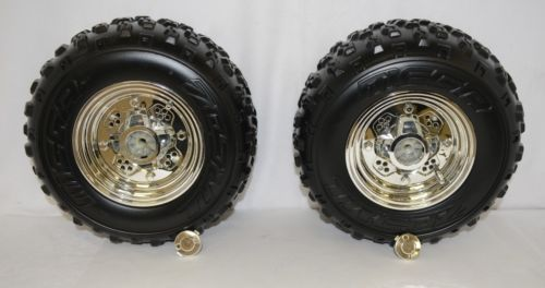 Unbrand WMASP102100CE Set Of 2 Wheels Raptor ATV 12 Volt Battery Powered Ride On