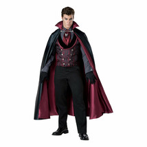 Midnight Count Victorian Vampire Halloween Cosplay Costume Cape 2XL Mens... - €67,66 EUR