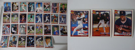 1991 Topps Boston Red Sox Team Set of 33 Baseball Cards With Traded - $8.00