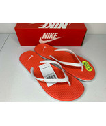 NIB SIZES 5-12 WOMEN Nike Solarsoft Thong Slippers Sandals Flip Flops Wh... - $21.99