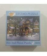 Bits and Pieces Studio The Carolers 1000 Piece Jigsaw Puzzle NEW SEALED - $28.04