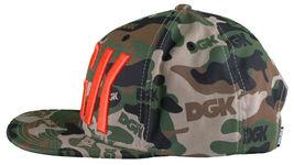 DGK Dirty Ghetto Kids Green Camouflage Assault Snapback Baseball Hat NWT image 5
