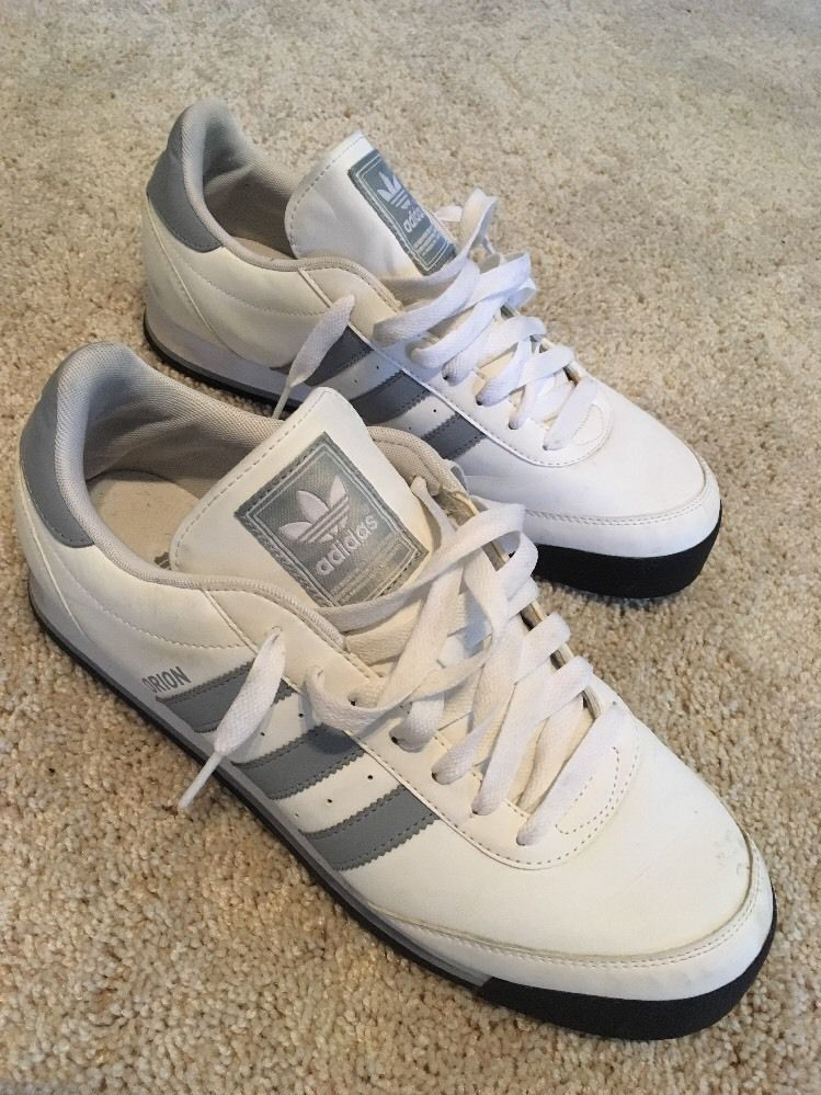 Adidas  'Orion ' White/grey Sneakers Mens Size 10.5
