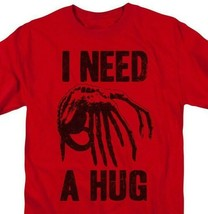 Alien t-shirt I Need a Hug retro 70's 80's horror sci-fi graphic tee TCF107 image 2