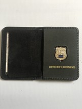 Police Officer  Husband Generic Mini Shield  Leather ID Wallet - 2018 - $23.76