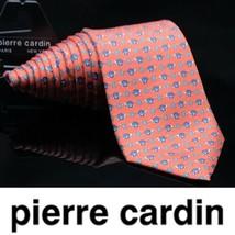 Pierre Cardin Turtle   Flower  Design Dapper Suit Fashion Gorgeous Tie - $33.20