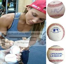 Lolo Jones USA 3X Olympian Signed Autographed Baseball Track and Field P... - $77.59