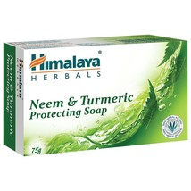 Himalaya Herbal Neem & Turmeric Soap Stay protected skin 75gms 125gms Bo... - $6.67+